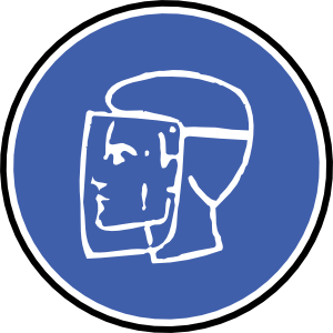 Safety vector mask. Clipart