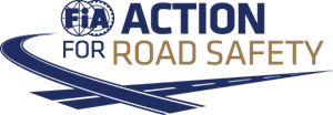 Vector roads logo. Fia action for road