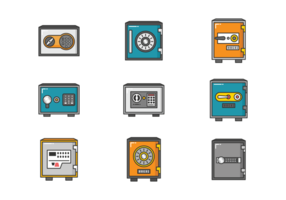Safe vector dial. Free art downloads strongbox