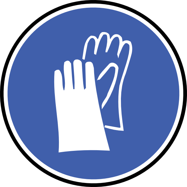 Glove vector safety. Free ppe symbols download