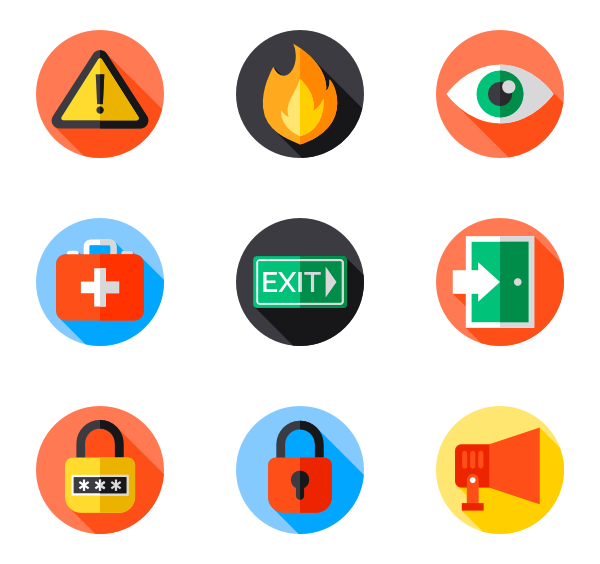 Safety vector workplace. Icons funf pandroid co