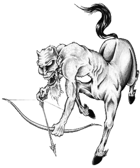 Sagittarius drawing. This is definitely my