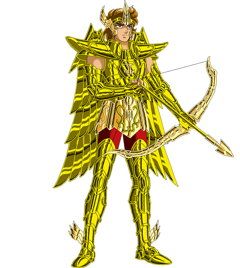 Sagittarius drawing saint seiya. Aioros by rodrigo on