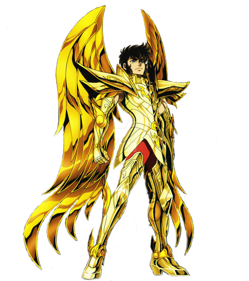Sagittarius drawing saint seiya. Aiolos divine render by