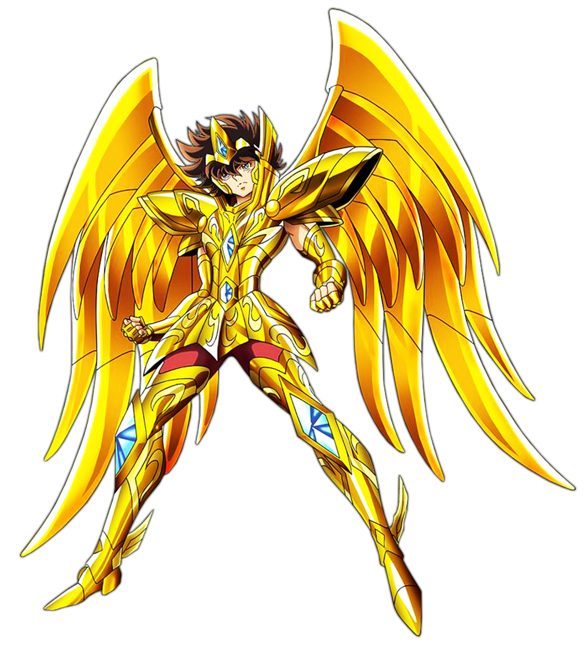 Sagittarius drawing saint seiya. Omega render v by