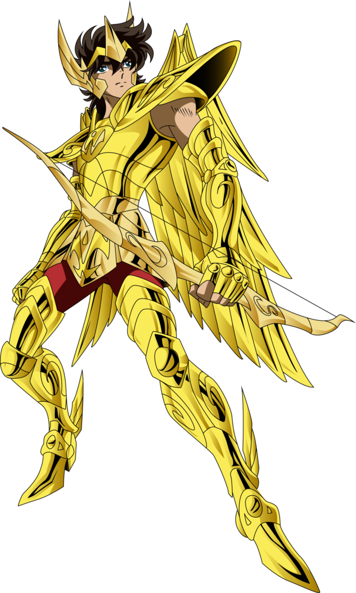 Sagittarius drawing saint seiya. Aiolos by ikkispartan on