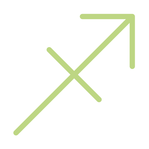 Sagittarius vector constellation. Signs icon png and