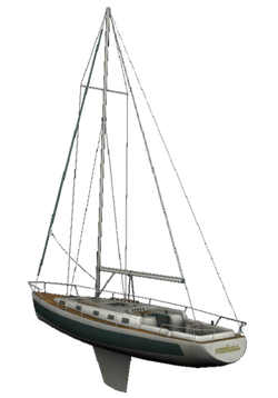 Image left dead fanon. Sailboat png image freeuse stock