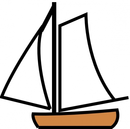 Free download of Sailing Boat clip art Vector Graphic - Vector.me