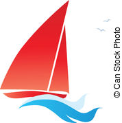 Sail clipart. Illustrations and clip art clip