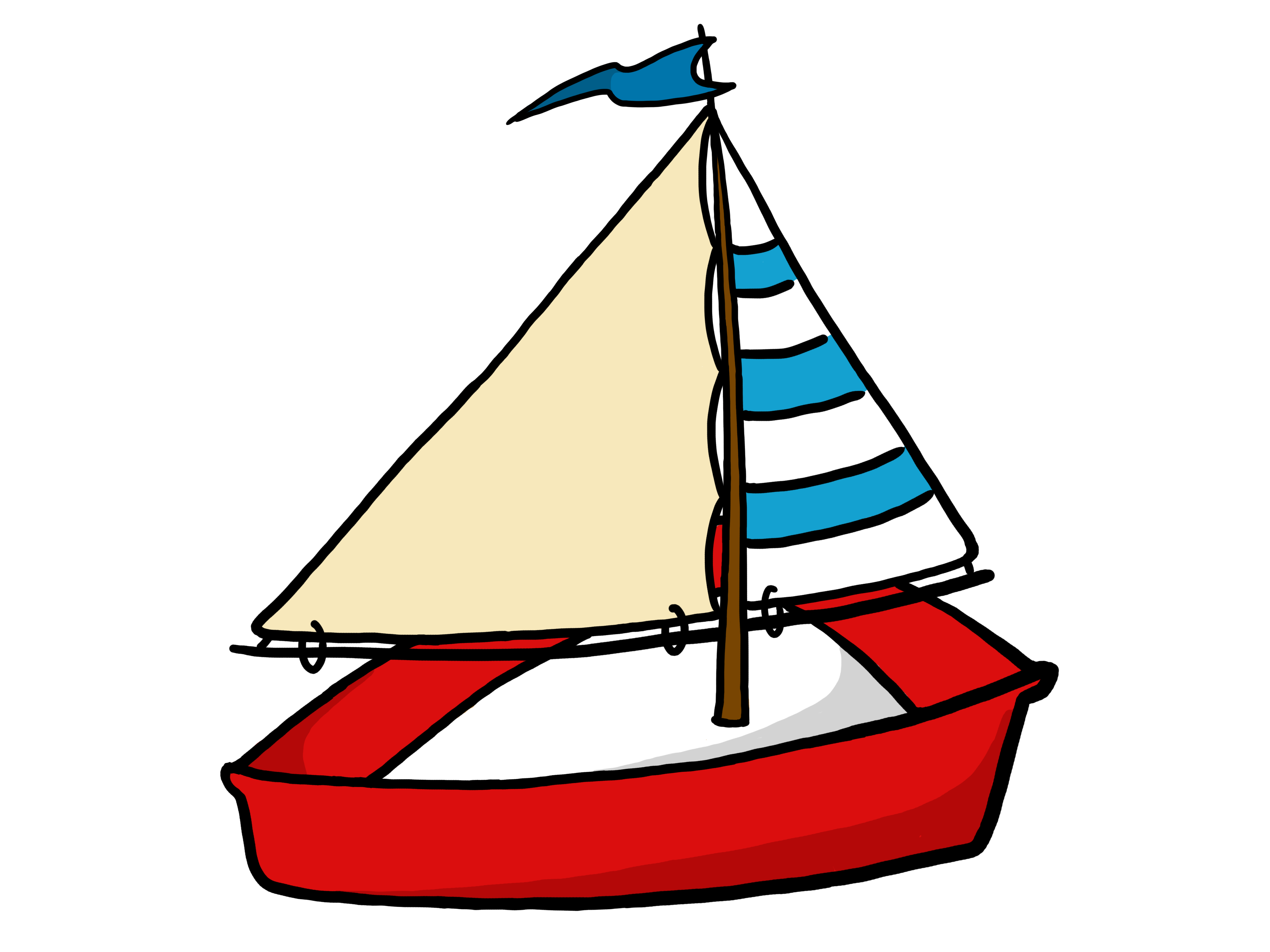 Boating panda free images. Sail clipart drift boat clip transparent stock