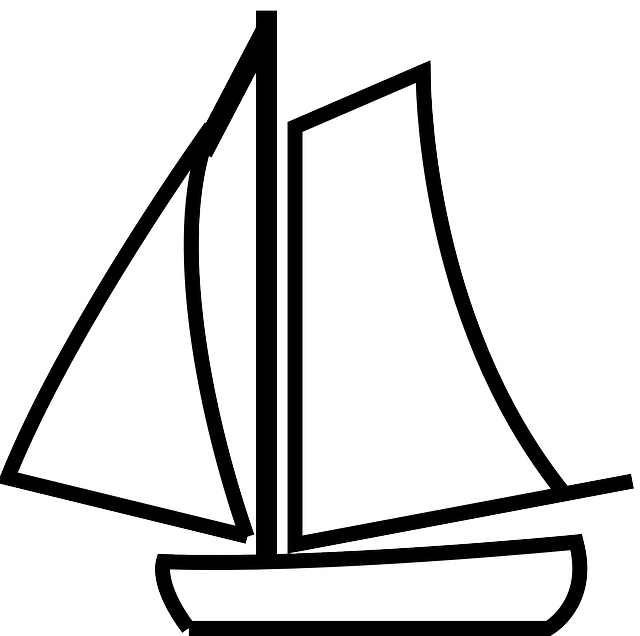 Sail clipart drift boat. Free image on pixabay