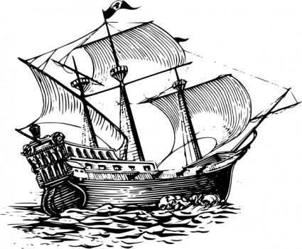Sail clipart fleet ship. Pencil drawing at getdrawings