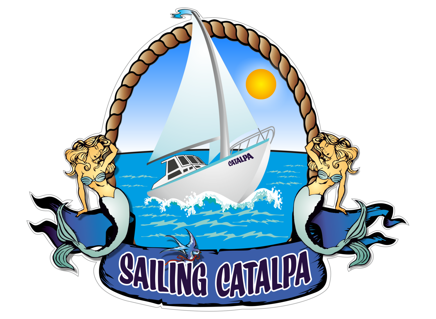 Sail clipart sailing sport. Home catalpa clip stock