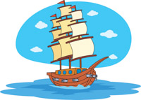 Sail clipart tall ship. Search results for sailing