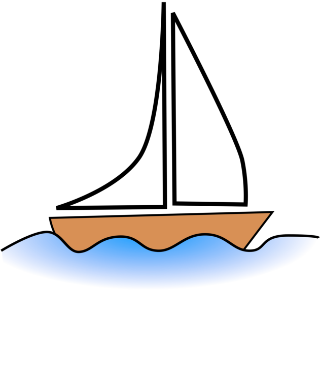 Sail clipart sunset. Sailboat sailing ship fishing
