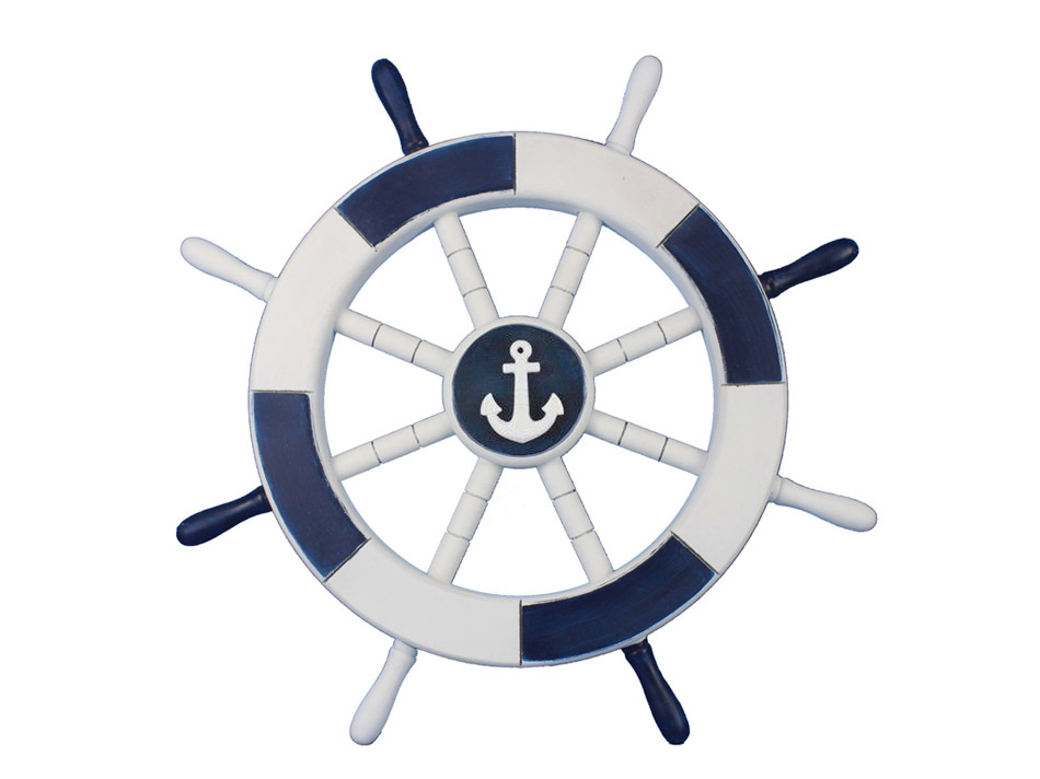 Buy dark blue and. Sail clipart wheel vector