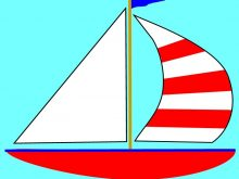 Sail clipart yatch. Yacht images silhouette sea