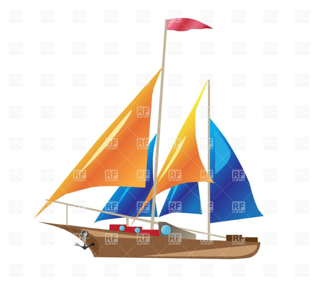 Sail clipart yatch. Yacht q royalty free svg royalty free download