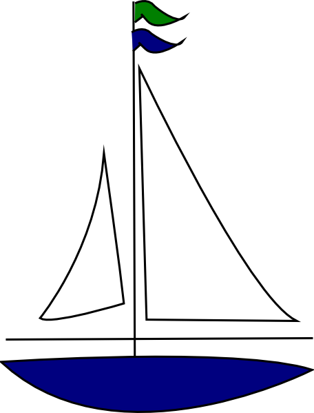 Sailboat clipart. Free