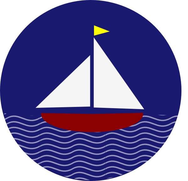 Sailboat clipart navy blue. Image clip art library