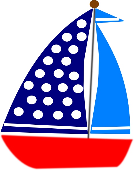 Sailboat clipart sailing. Blue panda free images