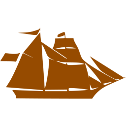 Sailboat clipart brown. Boat icon free icons
