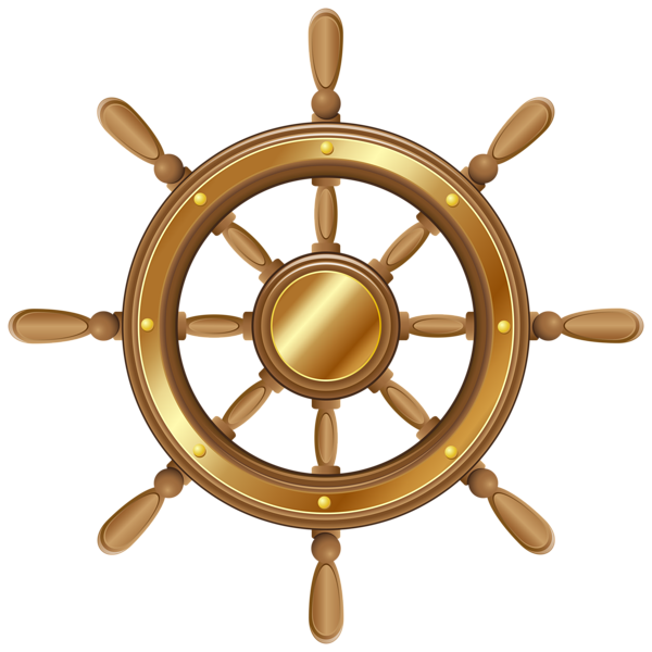 Sailboat clipart brown. Boat wheel transparent png