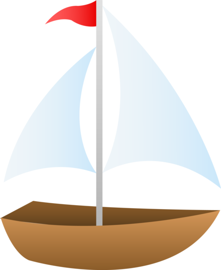 sailing vector small sailboat