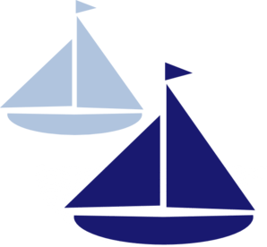 Sailboat clipart navy blue sailboat. Logo clip art library