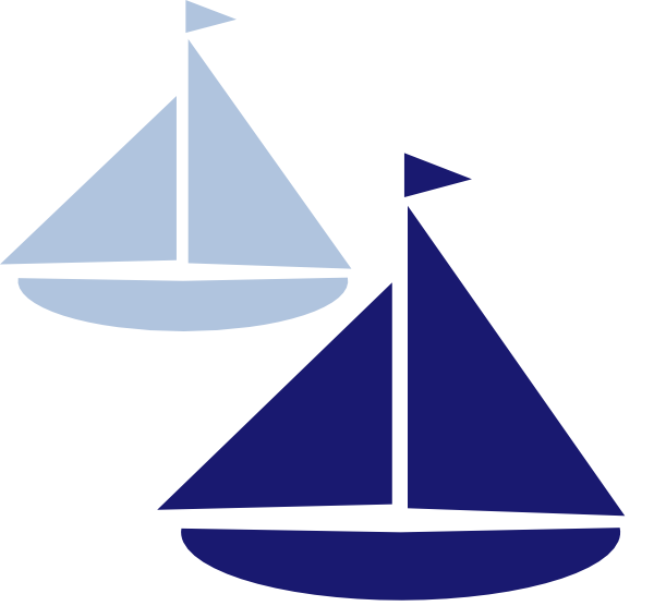 Sailboat clipart navy blue sailboat. Ship silhouette clip art