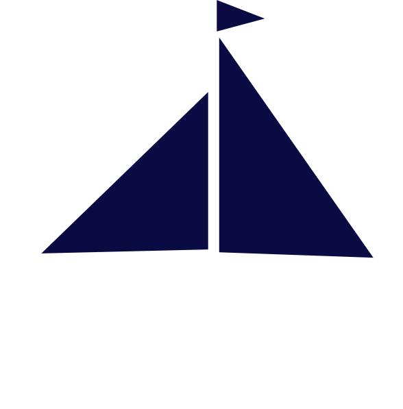 Sailboat clipart navy blue sailboat. Image of clip art