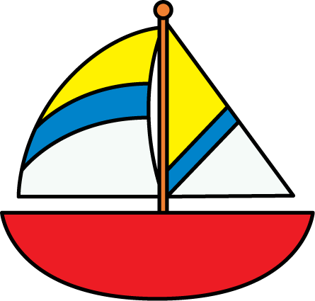 Sailboat clipart png. Sail boat silhouette at