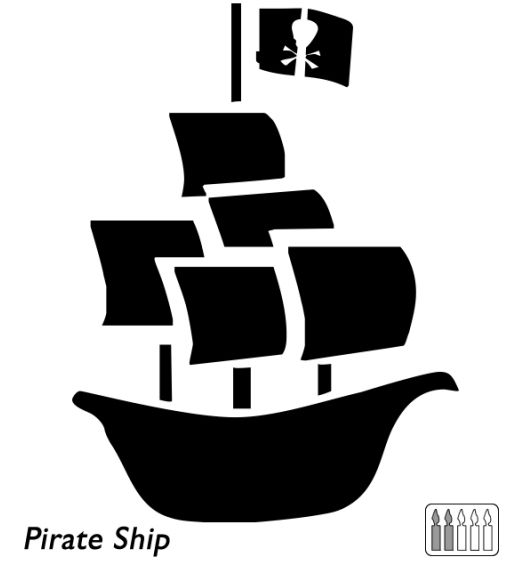 Sailboat clipart pumpkin carving. Best pirate jack