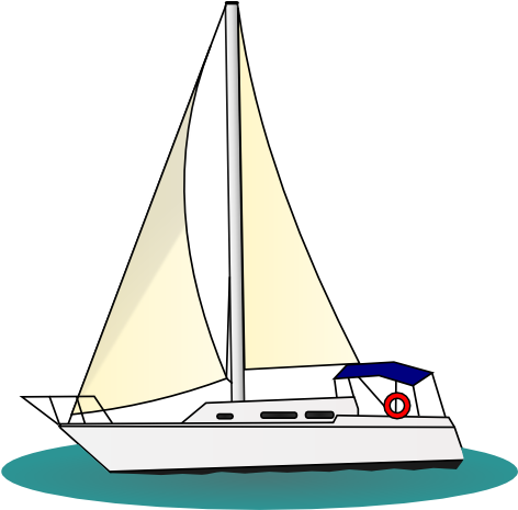 Sailboat silhouette png. Download clip art of