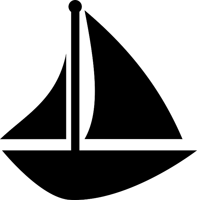 Sailing vector baby sailboat. Free image on pixabay