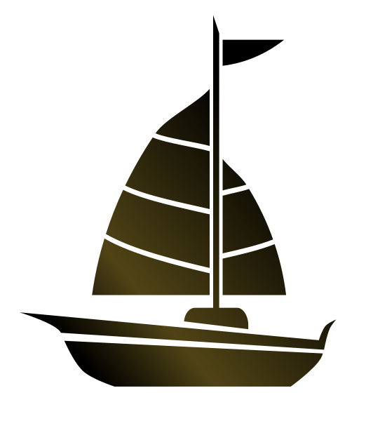 Sailing vector broken ship. Collection of free doat