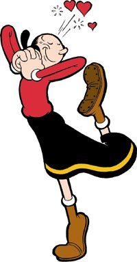 Sailor clipart olive oyl. Best popeye and