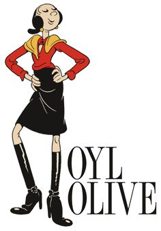 Sailor clipart olive oyl. Popeye bornin flashbacks from