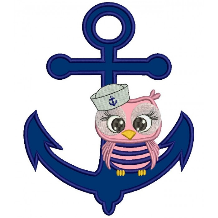 Sailor clipart owl. Sitting on a boat