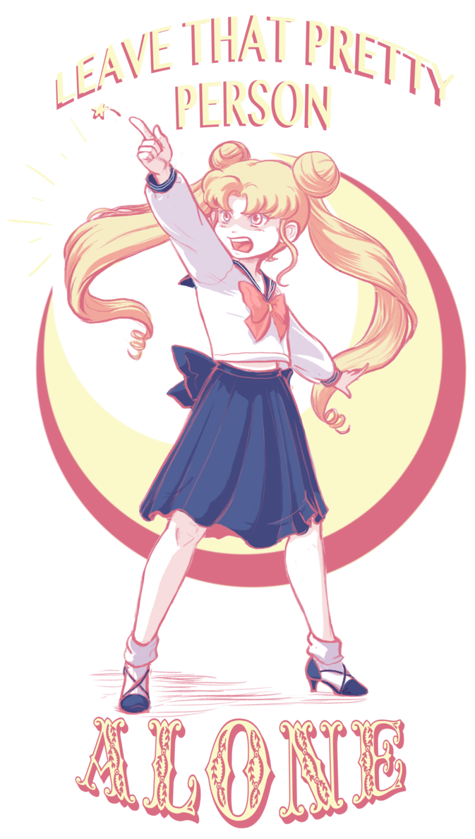 Sailor clipart sailer. Usagi says leave that