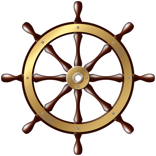 helm vector sailboat wheel