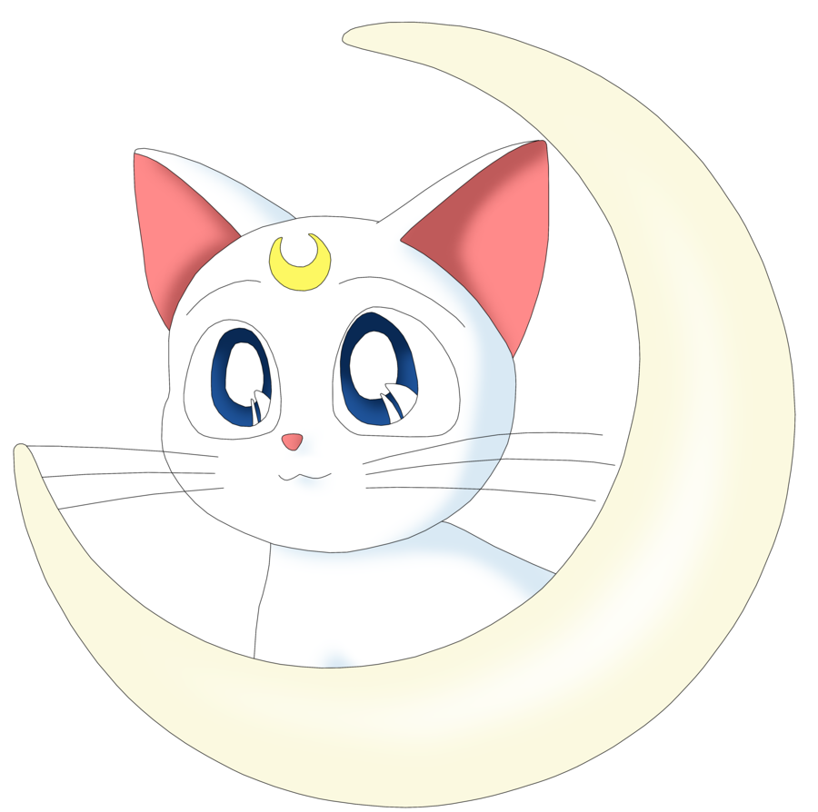 sailor moon cats png