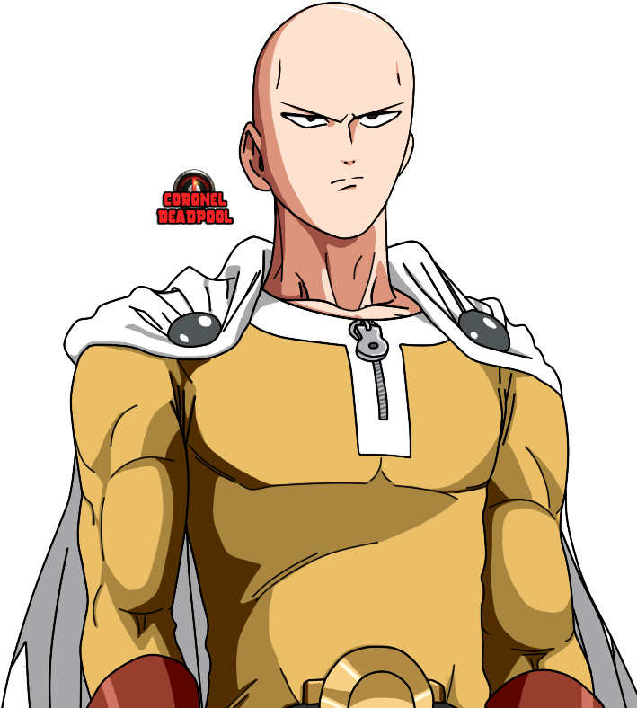 One punch man saitama png. Download hd serious transparent