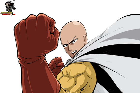 Saitama one punch man png. Download image with no