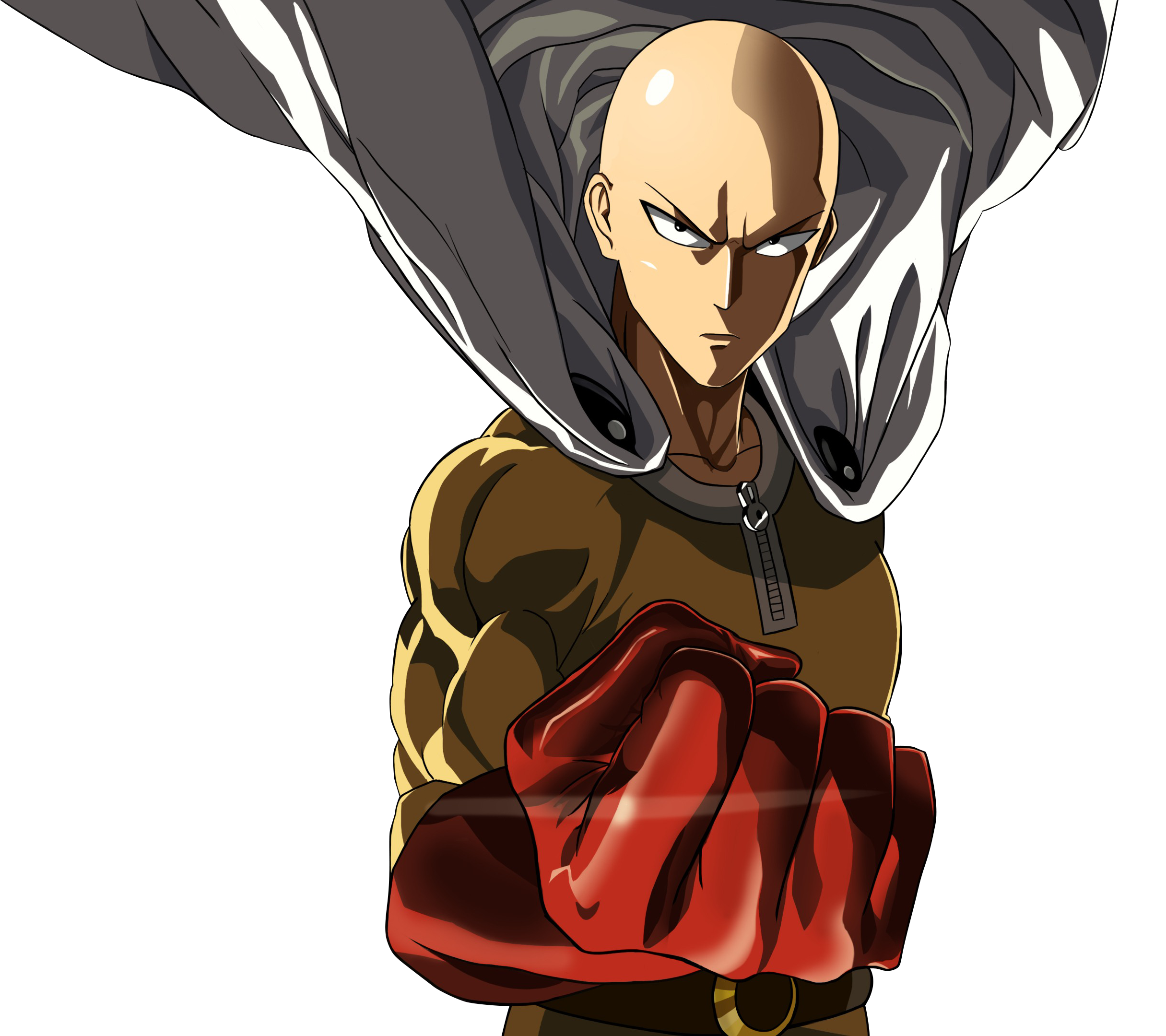 Saitama one punch man png. So who do you