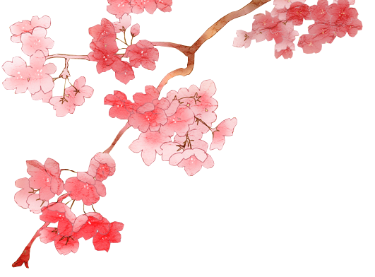 By dothenyancat on deviantart. Cherry blossom png vector black and white stock