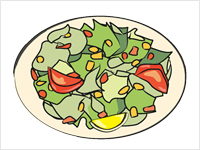 Salad clipart animated. Images panda free saladclipart