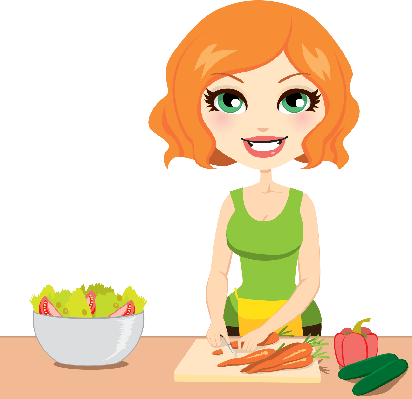 Salad clipart diet. Healthy vegetable the arts