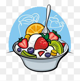 Salad clipart fruit cup. Png images vectors and